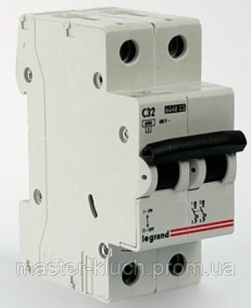 Автоматический выключатель Legrand 2р  32А