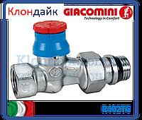 Giacomini Прямой термостатический клапан 1