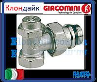Giacomini Угловой отсечной клапан хромированный 1/2