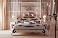 Кованая кровать  К053 ATHOS GIUSTI PORTOS  Реплика. цена  без изножья