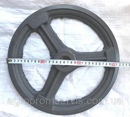 Шкив диаметром 320 мм. вал 28 мм. профиль ремня Б, фото 2