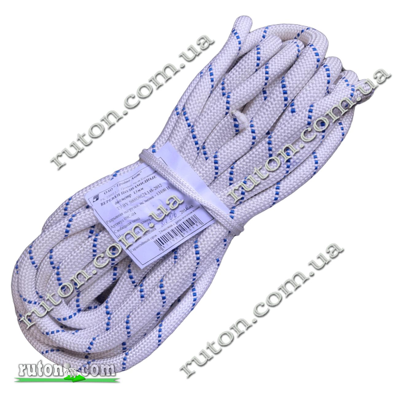 Веревка полиамидная, фал капроновый 6 мм - 25 м Беларусь г. Гродно