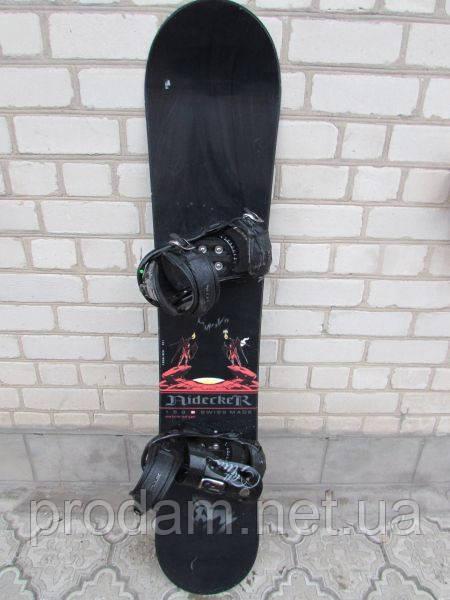Сноуборд NideckeR 158 см з кріпленнями