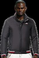 Куртки мужские демисезонные - 347 черный красный, фото 1