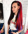 ❤️ Каникалон коса ❤️ для брейд, кос и причёсок красный, фото 8