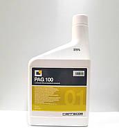 Масло компрессорное PAG 100 синтетическое для авто кондиционеров 1 Л Errecom