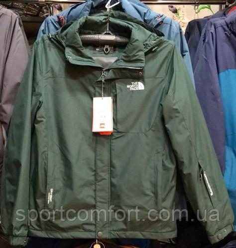 Куртка north face хаки