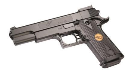 Пистолет Double Eagle P169 пластиковый утяжеленный, с пульками