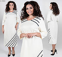 Стильное платье   (размеры 52-60)  0146-08, фото 1