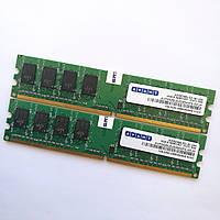 Оперативная память Avant DDR2 2Gb (1Gb+1Gb) 800MHz PC2 6400U CL6 (AVF6428U52E6800F9-SPJP) Б/У, фото 1