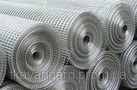 Сетка сварная штукатурная металлическая в рулонах 50*25*1,2*30000*1000 оцинкованная