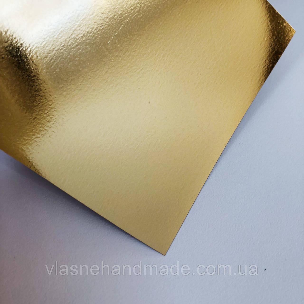 Термотрансферна плівка - Foil (не дзеркальна)- золото - 10х25 см