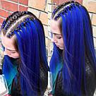 💙 Канекалон для косичек и причёсок синий 💙, фото 8