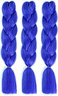 💙 Канекалон однотонный яркий синий, коса 💙, фото 7