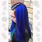 💙 Канекалон однотонный яркий синий, коса 💙, фото 8