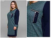 Стильное платье   (размеры 54-60)  0146-16, фото 1
