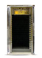 Ресницы изгиб  D,0,1мм, 12мм DOLCE VITA Extension deluxe