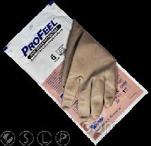 Перчатки PROFEEL EXTRA PROTECTION хирургические ортопедические, травматологические, коричневые
