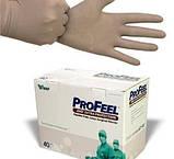 Перчатки PROFEEL EXTRA PROTECTION хирургические ортопедические, травматологические, коричневые, фото 3