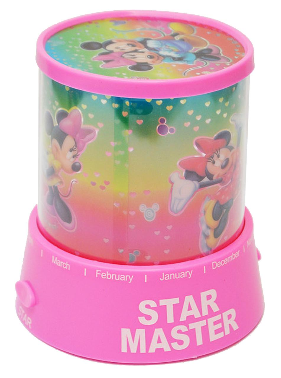 Проектор звездного неба Star Master Мики Маус розовый