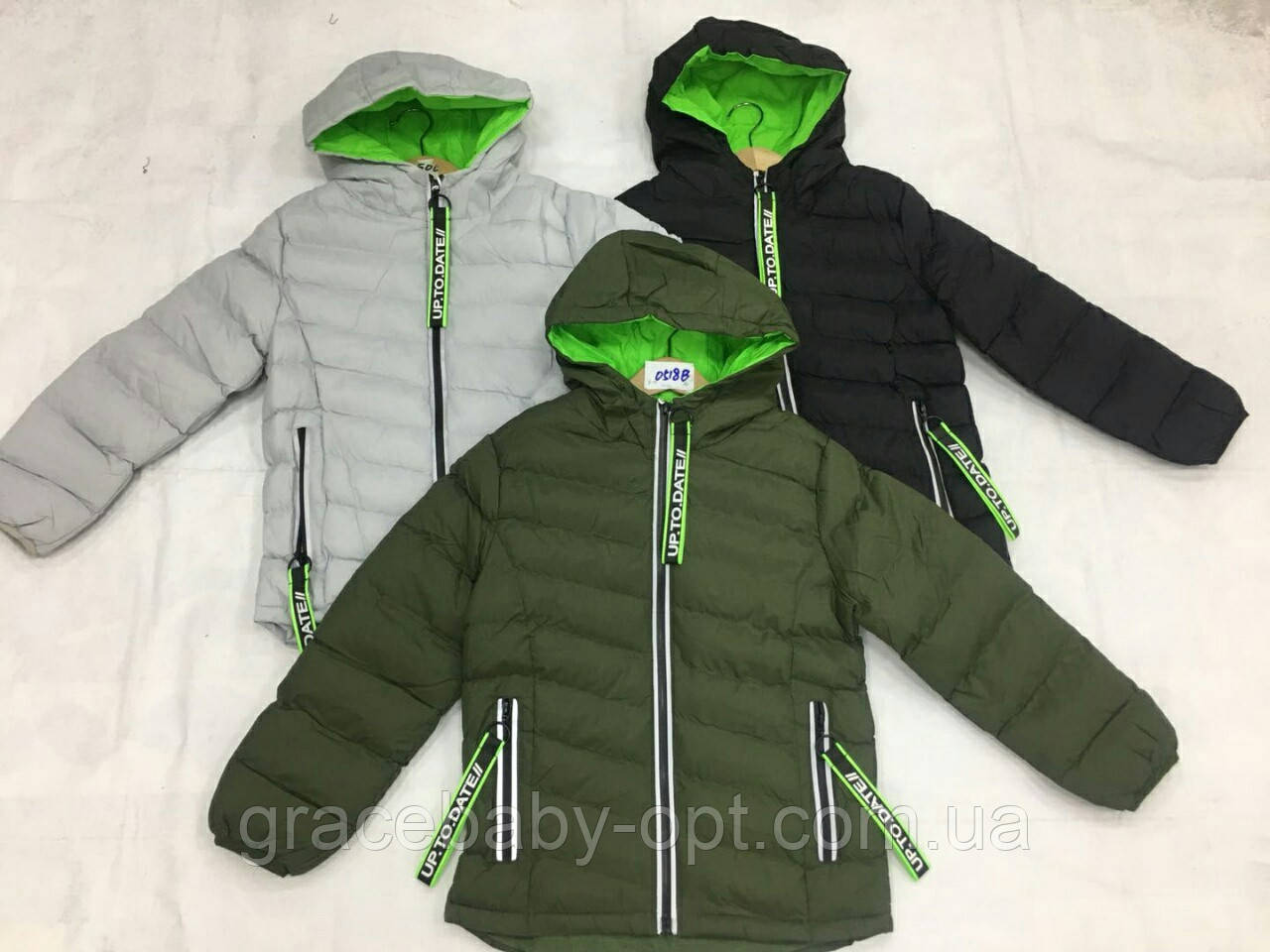 Куртка для мальчика оптом, F&D, 8-16 лет,  № 0518В, фото 1