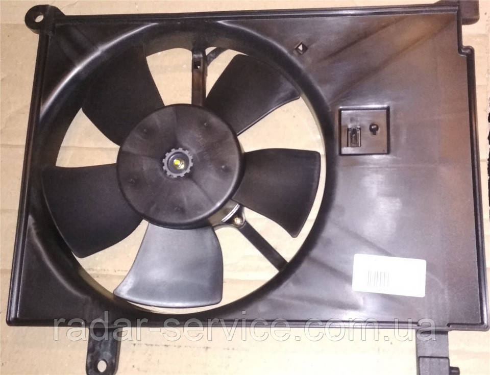 Вентилятор додатковий Ланос, ЗАЗ, 96182264-05