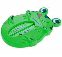 Термометр для воды Жаба, Canpol Babies, зеленый (9/220-1)