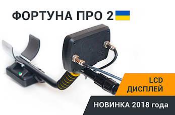 Металлоискатель Металошукач Фортуна ПРО-2 LCD-дисплей 7*4 FM трансмиттер,металоискатель, фото 3