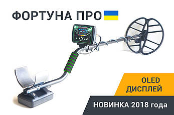 Металлоискатель Металошукач Фортуна ПРО с OLED дисплеем. FM трансмиттер,металоискатель, фото 2