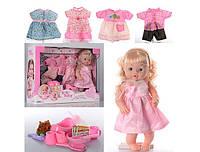 Кукла пупс Baby Toby (Baby Born) интерактивный с 4 нарядами и аксессуарами