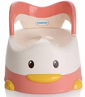 Детский горшок Утёнок, розовый, Babyhood (BH-114P)