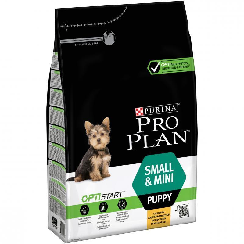 Purina Pro Plan Puppy SMALL and MINI Optistart 700 г-для щенков мелких и карликовых пород