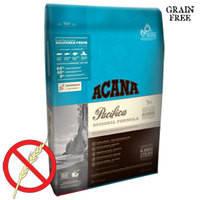 Беззерновой корм для собак всех пород и возрастов на основе трех видов свежих рыб Acana Pacifica Dog 340 гр.