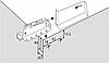 Навес  Linken System с заглушками (прав+лев. комплект)  Коричневый, фото 2
