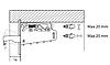 Навес  Linken System с заглушками (прав+лев. комплект)  Коричневый, фото 3