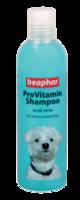 Шампунь для собак со светлой и белой шерстью Бефар Beaphar Pro Vitamin Shampoo White/Blue 250 мл.
