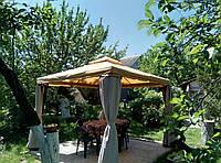 Ткань на беседку, террасу, веранду. Создаём качественную защиту от солнца и осадков!