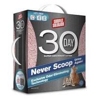 Суперадсорбирующий наполнитель для кошачьего туалета Simple Solution 30-day Super Absorbent Litter 4.08 кг