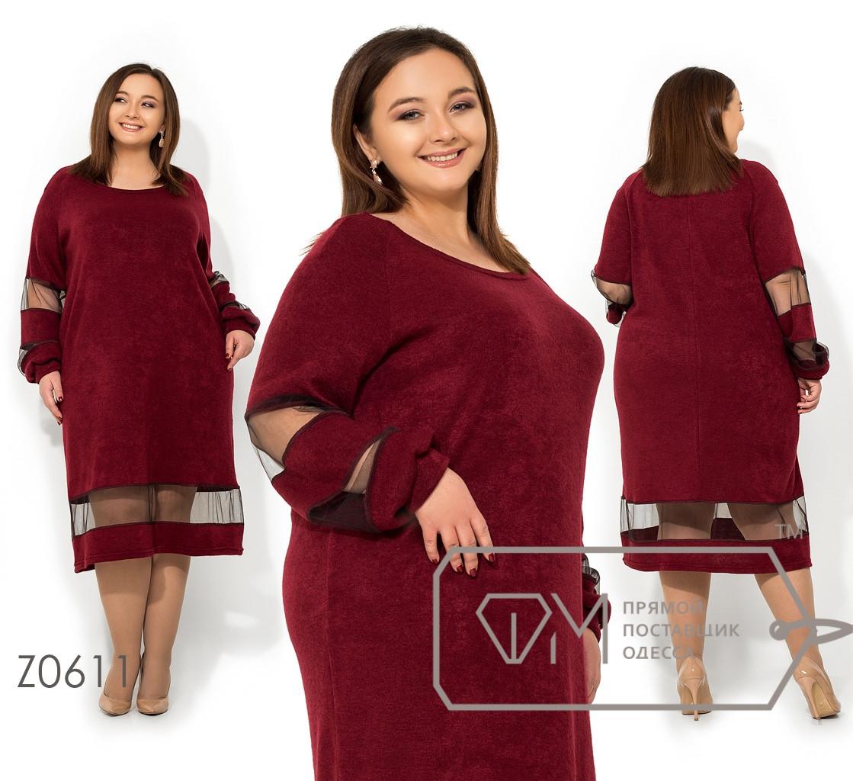 Стильное платье   (размеры 56-62)  0146-29