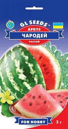 Арбуз Чародей, пакет 3г - Семена арбуза, фото 2