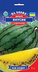 Арбуз Янусик (желтая мякоть), пакет 1г - Семена арбуза