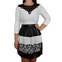 Нарядное платье с перфорацией Dana 42-48р