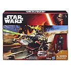 Набор Звездные войны Лендспидер Джакку с фигуркой Финна. Оригинал Hasbro B3674/B3672, фото 5