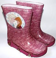 Резиновые сапожки Disney 25-32 размер Эльза Frozen