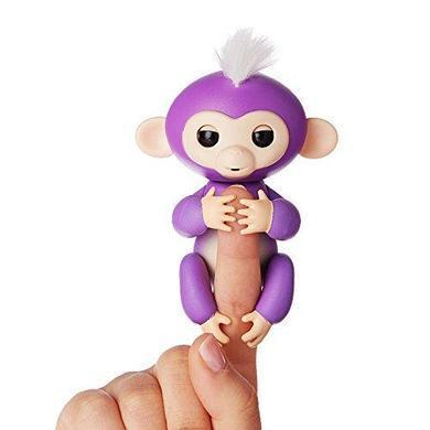 Интерактивная Обезьянка 4 цвета фиолетовый