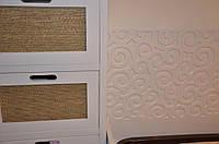Кровать и тумба прикроватная, пленочный фасад МДФ