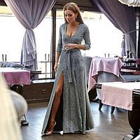 """Длинное платье в пол """" Люрекс """" Dress Code"""
