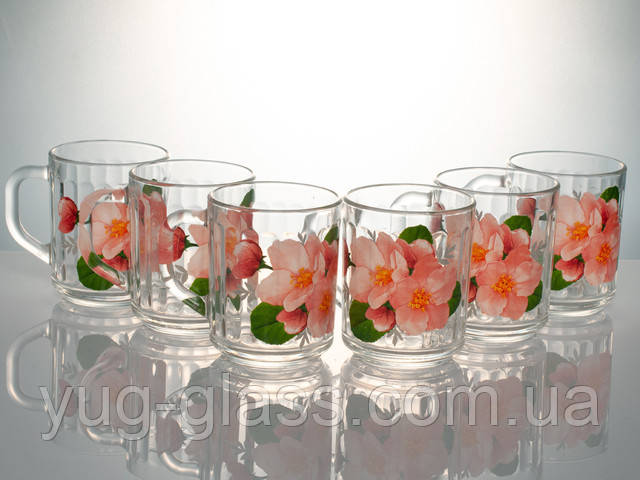 Стеклянные чашки для дома