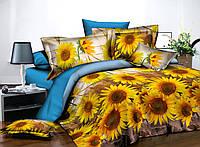 Красивый полуторный комплект постельного белья.