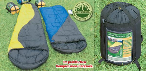 Спальный мешок утепленный -21 одеяло Adventuridge Mumien Schlafsack